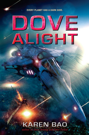 Dove Alight by Karen Bao