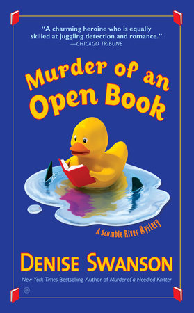 Murder of an Open Book by Denise Swanson