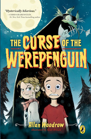 The Curse of the Werepenguin by Allan Woodrow