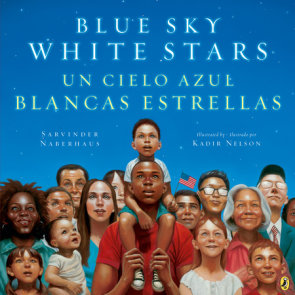 Blue Sky White Stars Bilingual Edition
