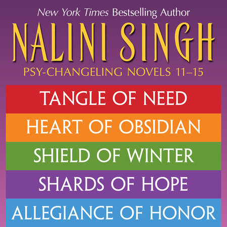 Nalini Singh: The Psy-Changeling Series Books 11-15 by Nalini Singh