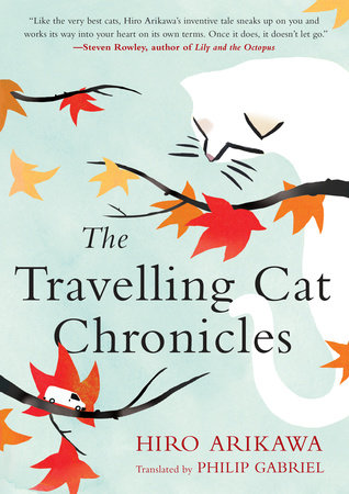 The Travelling Cat Chronicles Book Cover Picture