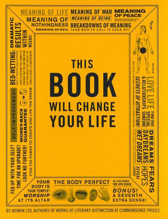 This Book Will Change Your Life by Ben Carey