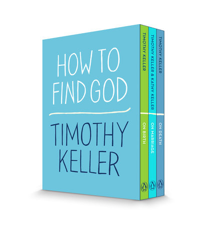 How to Find God 3-Book Boxed Set by Timothy Keller