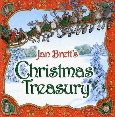 Jan Brett's Christmas Treasury by Jan Brett