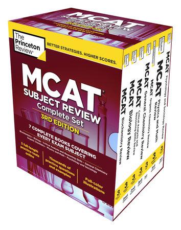 The Princeton Review MCAT Subject Review Complete Box Set, 3rd Edition by  The Princeton Review | PenguinRandomHouse com: Books