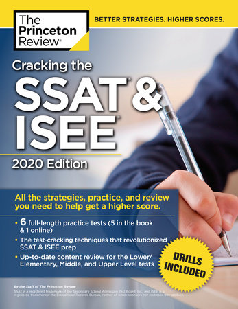 Cracking the SSAT & ISEE, 2020 Edition by The Princeton Review