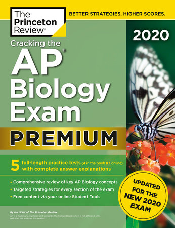 Cracking the AP Biology Exam 2020, Premium Edition by The Princeton Review
