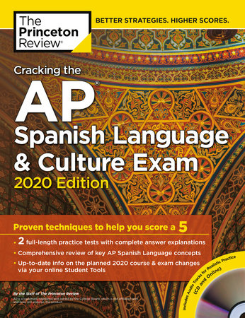 Cracking the AP Spanish Language & Culture Exam with Audio CD, 2020 Edition by The Princeton Review