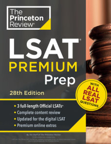 Princeton Review LSAT Premium Prep, 28th Edition