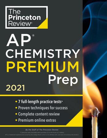 Princeton Review AP Chemistry Premium Prep, 2021 by The Princeton Review