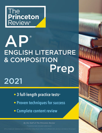 Princeton Review AP English Literature & Composition Prep, 2021