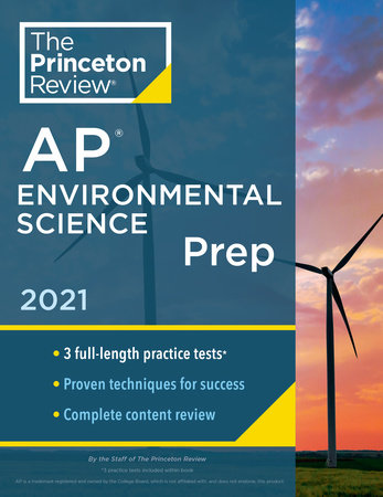 Princeton Review AP Environmental Science Prep, 2021 by The Princeton Review