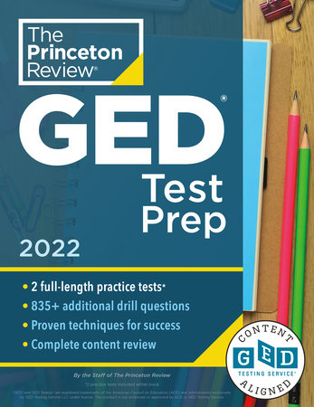 Princeton Review GED Test Prep, 2022 by The Princeton Review
