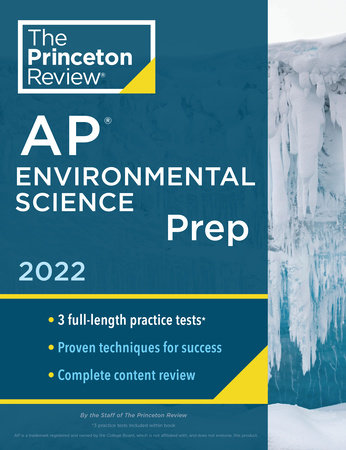 Princeton Review AP Environmental Science Prep, 2022 by The Princeton Review
