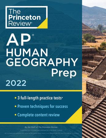 Princeton Review AP Human Geography Prep, 2022 by The Princeton Review