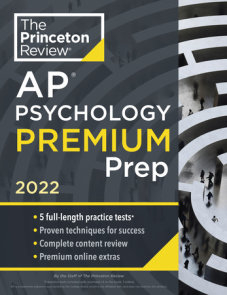 Princeton Review AP Psychology Premium Prep, 2022