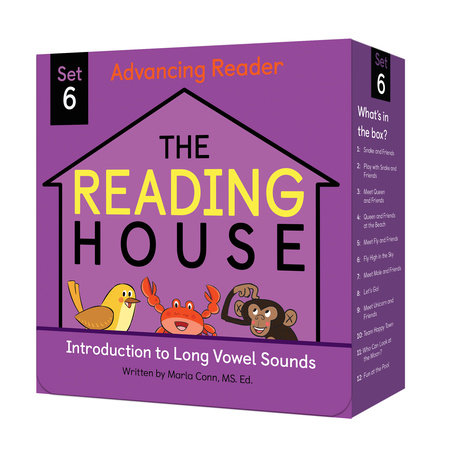 The Reading House Set 6: Introduction to Long Vowel Sounds by Marla Conn