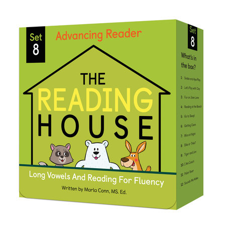 The Reading House Set 8: Long Vowels and Reading for Fluency by Marla Conn