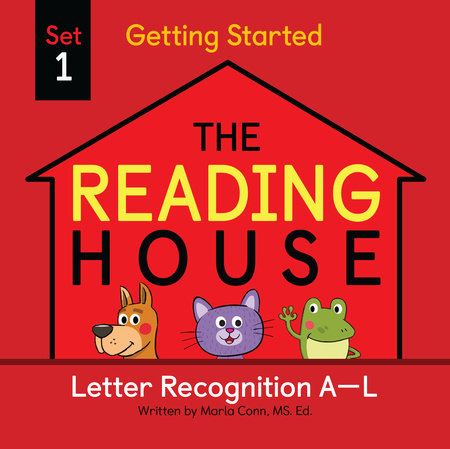 The Reading House Set 1: Letter Recognition A-L