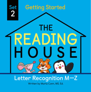 The Reading House Set 2: Letter Recognition M-Z