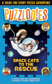 Puzzloonies! Space Cats to the Rescue