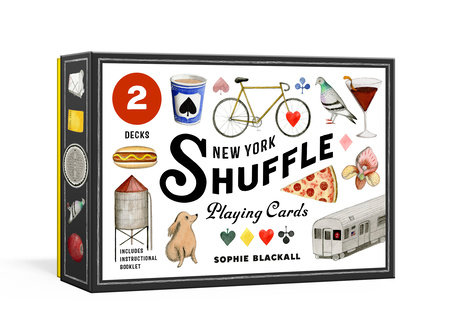 New York Shuffle Playing Cards by