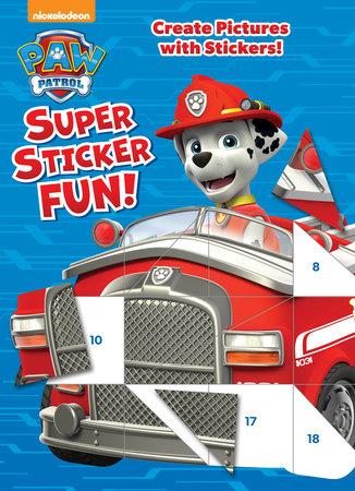 PAW Patrol Super Sticker Fun! (Paw Patrol) by Golden Books
