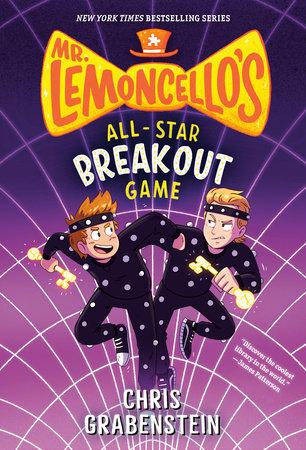 Mr. Lemoncello's All-Star Breakout Game by Chris Grabenstein