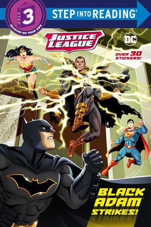 Black Adam Strikes! (DC Justice League) by Frank Berrios