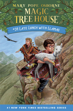 Late Lunch with Llamas by Mary Pope Osborne
