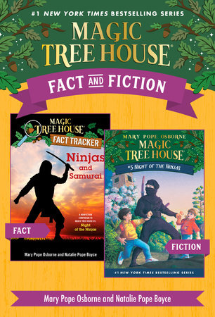 Magic Tree House Fact & Fiction: Ninjas by Mary Pope Osborne and Will Osborne