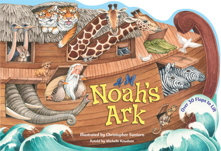 9. On Noah's Ark by Jan Brett