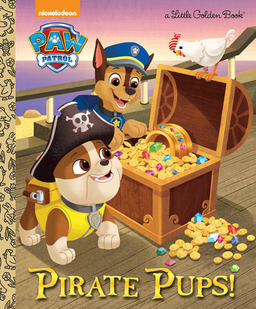 Pirate Pups! (Paw Patrol) by Golden Books