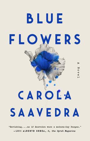 Blue Flowers by Carola Saavedra