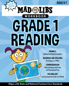Mad Libs Workbook: Grade 1 Reading