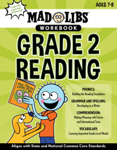 Mad Libs Workbook: Grade 2 Reading