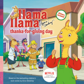 Llama Llama Thanks-for-Giving Day