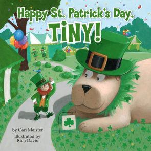 Happy St. Patrick's Day, Tiny!