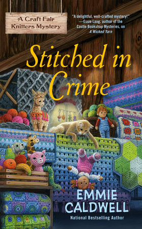 Stitched in Crime by Emmie Caldwell