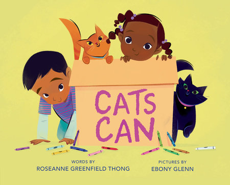 Cats Can by Roseanne Greenfield Thong