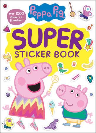 Peppa Pig Super Sticker Book (Peppa Pig) by Golden Books
