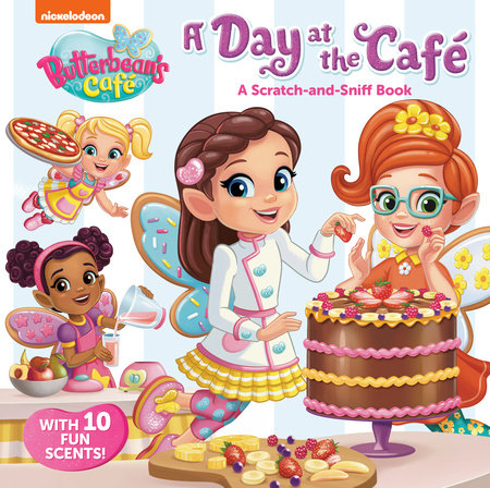 A Day at the Cafe: A Scratch-and-Sniff Book (Butterbean's Cafe) by Kristen L. Depken