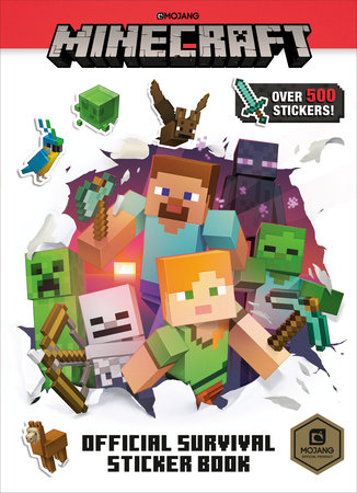 Minecraft Official Survival Sticker Book (Minecraft) by Craig Jelley and Stephanie Milton