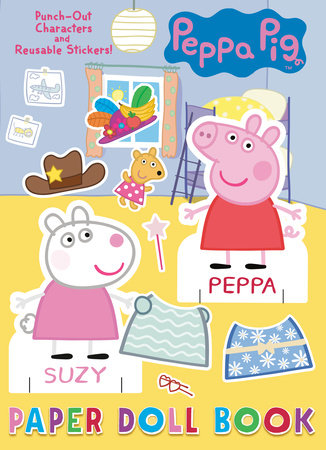 Peppa Pig Paper Doll Book (Peppa Pig) by Golden Books