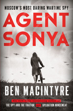 Agent Sonya Book Cover Picture