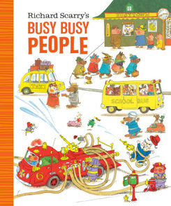 Richard Scarry's Busy Busy People