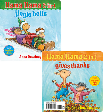 Llama Llama 2-in-1: Gives Thanks/Jingle Bells by Anna Dewdney