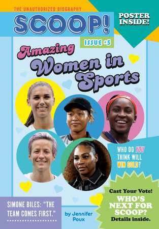 Amazing Women in Sports by Jennifer Poux