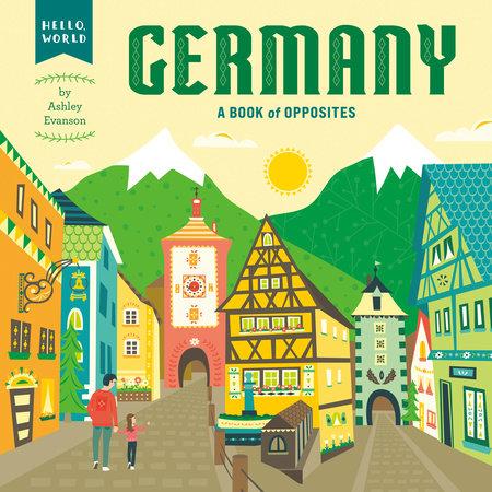 Germany by Ashley Evanson; Illustrated by Ashley Evanson